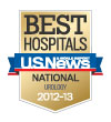 Best Hospitals 2012-2013 - 'US News & World Report'