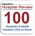 Becker's Hospital Review: 100 Hospital & Health System CIOs To Know 2014