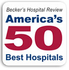 Becker's Hospital Review: 50 Best Hospitals in America
